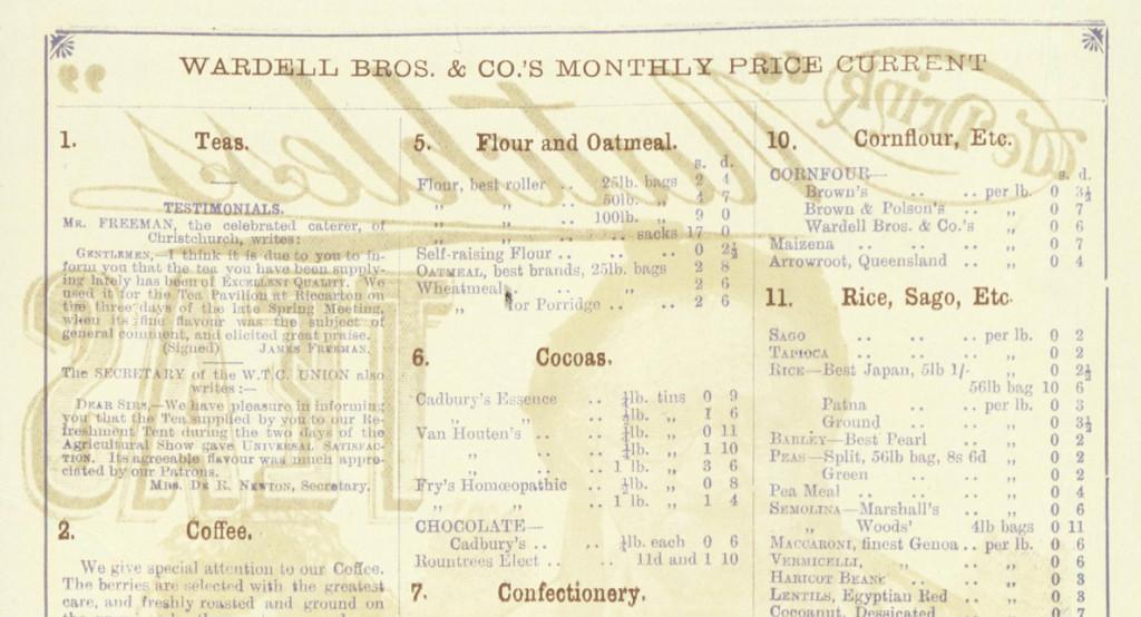 1893 tea brochure