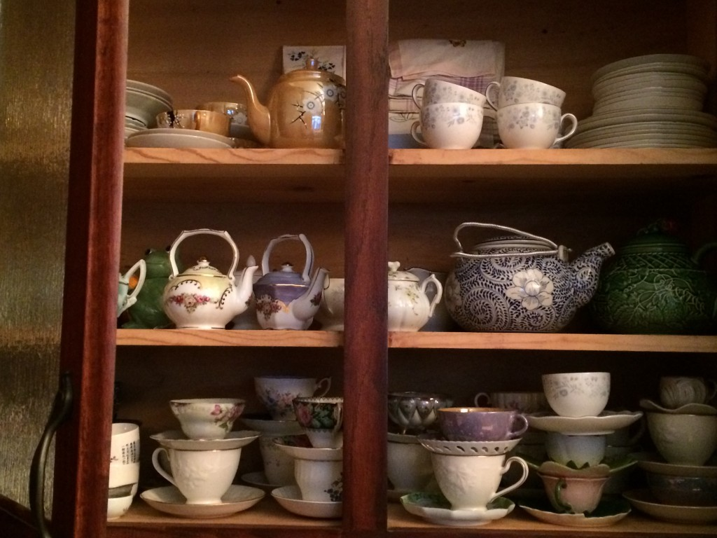 afternoon tea cupboard