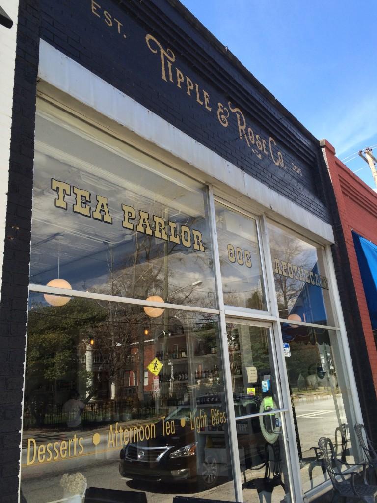 Tipple + Rose Storefront