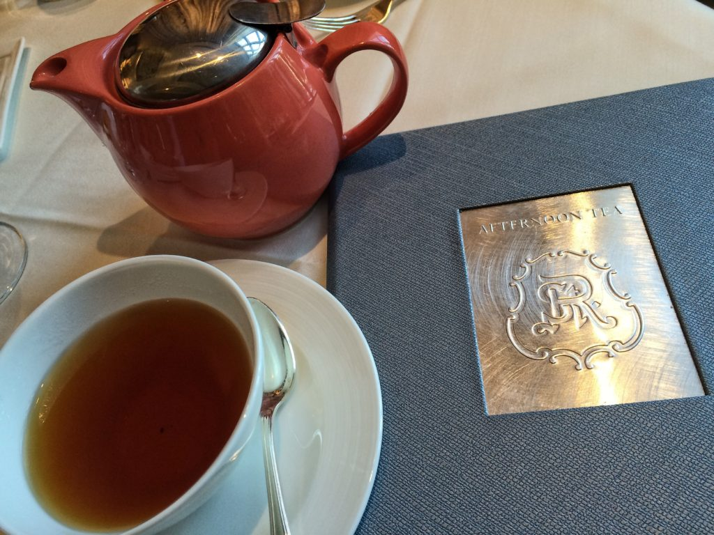 Each guest selects one tea and may request a second steeping