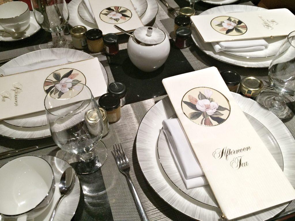 Ritz Carlton Tea Service