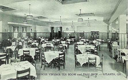 Frances Virginia Tea Room, courtesy of Fulton County GAGenWeb