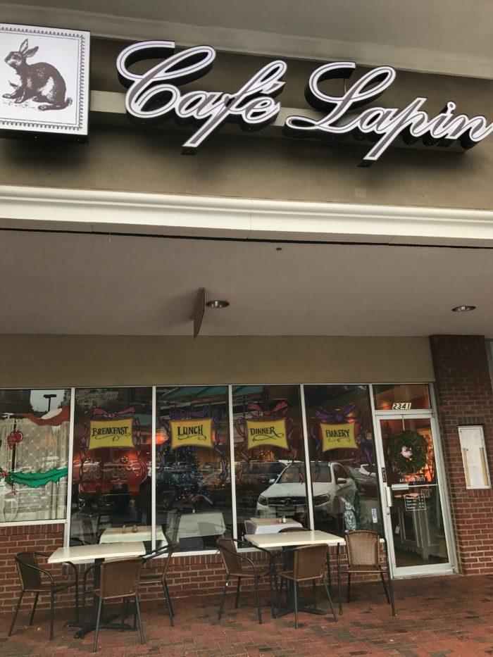 Cafe Lapin exterior