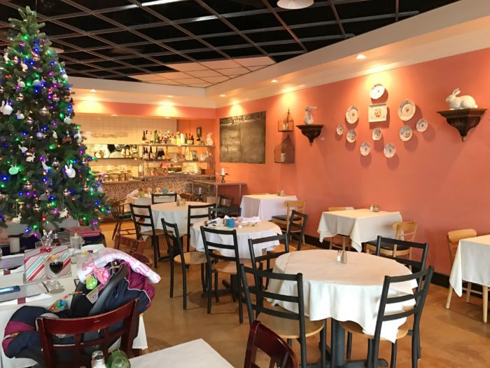 Cafe Lapin interior