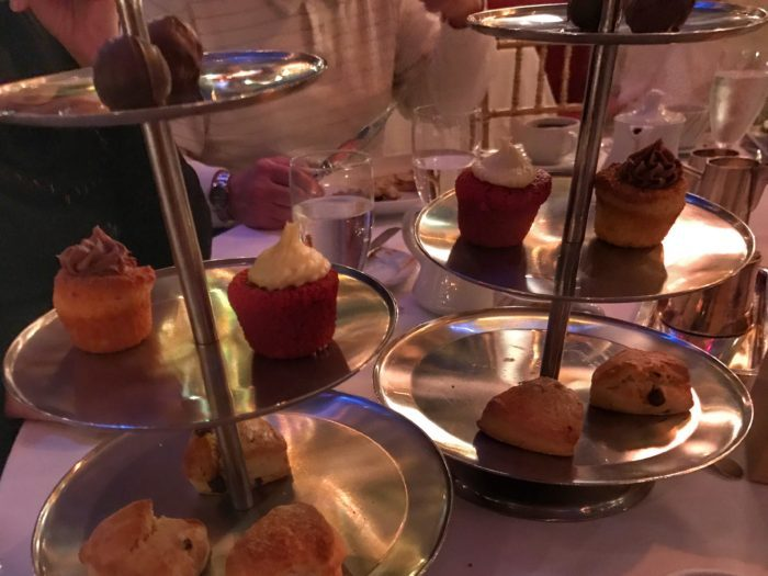 Dessert curates at Russian Tea Room