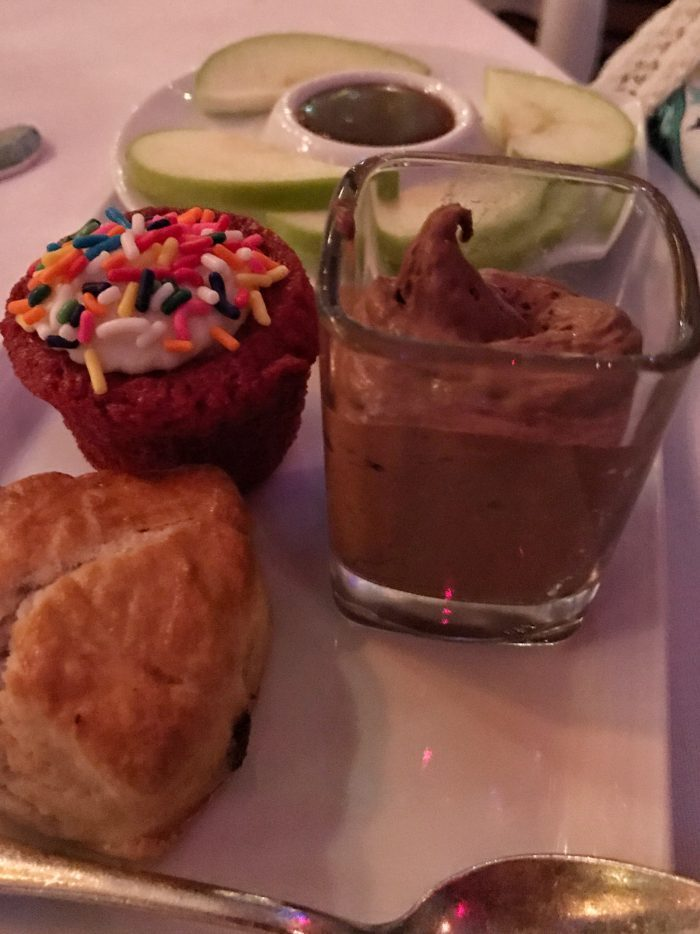 Children's desserts at Russian Tea Room