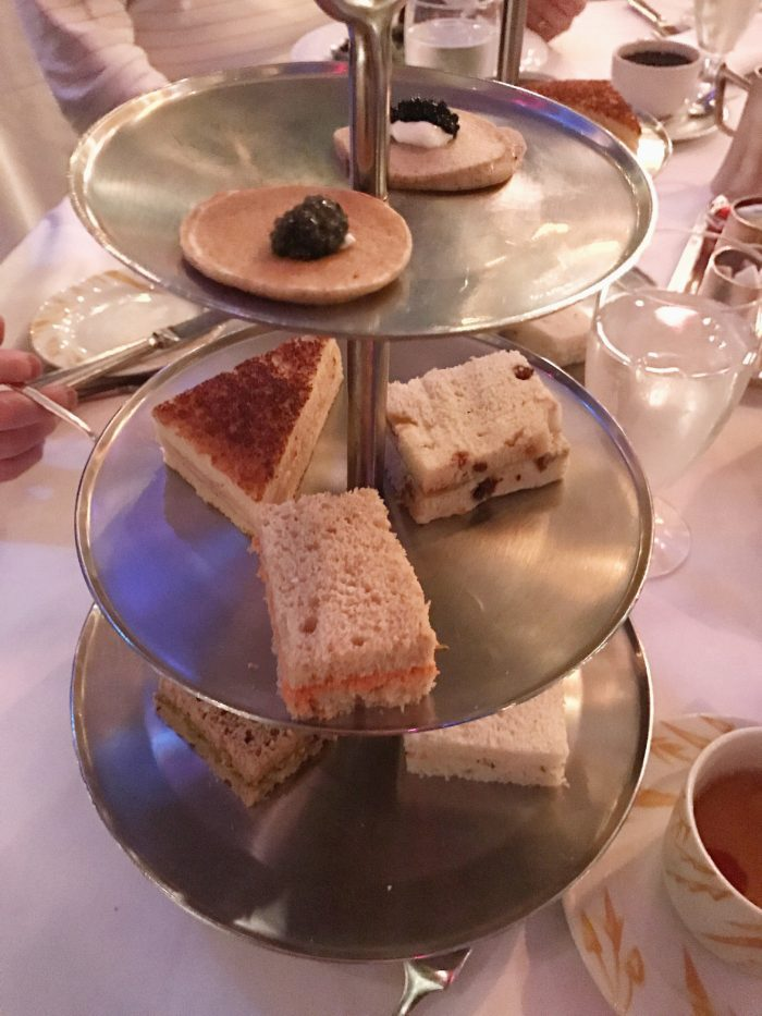 Afternoon tea curate at Russian Tea Room