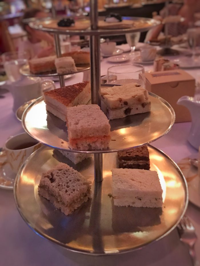 Tea sandwiches at Russian Tea Room