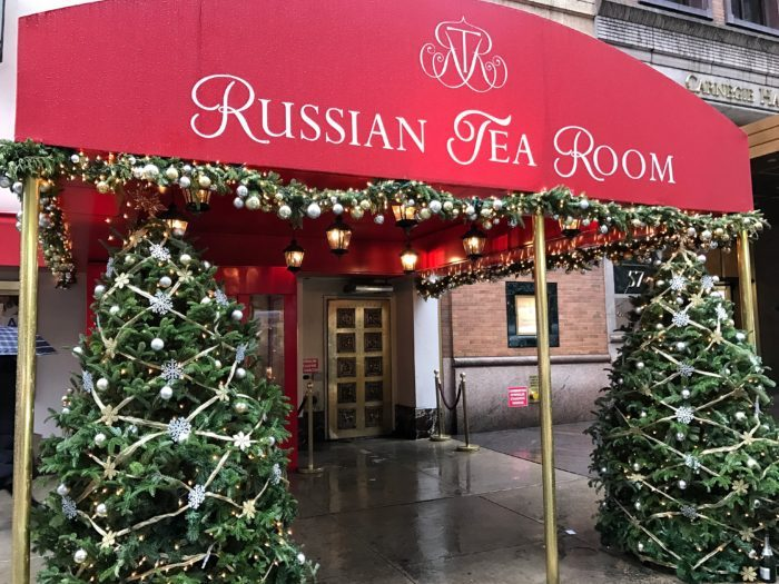 Entrance to Russian Tea Room