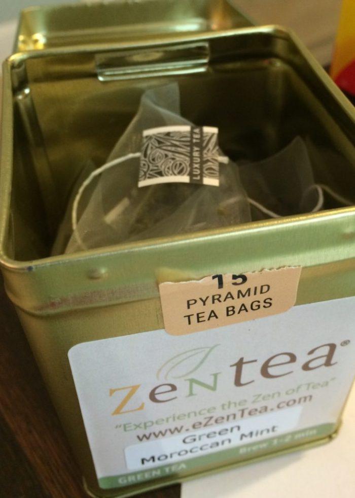 ZenTea pyramid tea bags