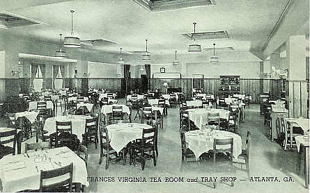 Frances Virginia Tea Room, courtesy of Fulton County GAGenWeb