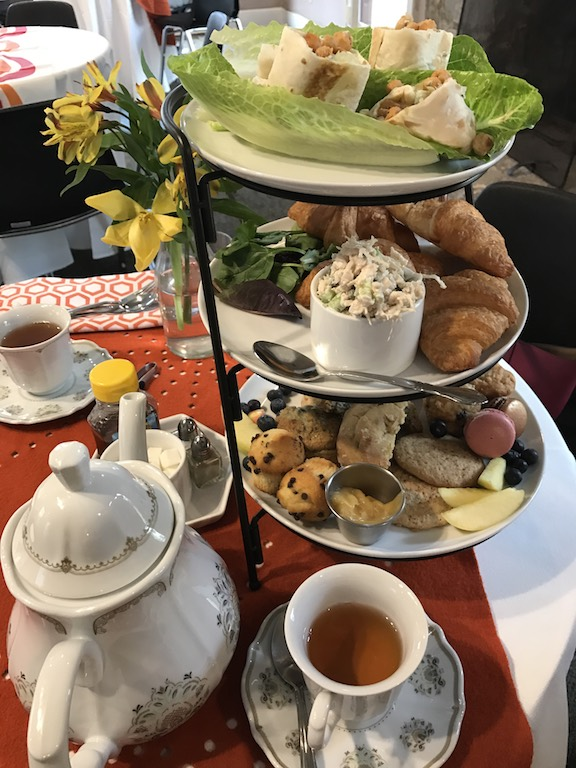 Afternoon tea curate at Just Add Honey at Hammonds House Museum