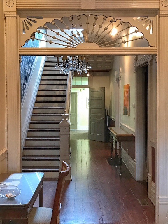 Hallway to Just Add Honey inside Hammonds House Museum
