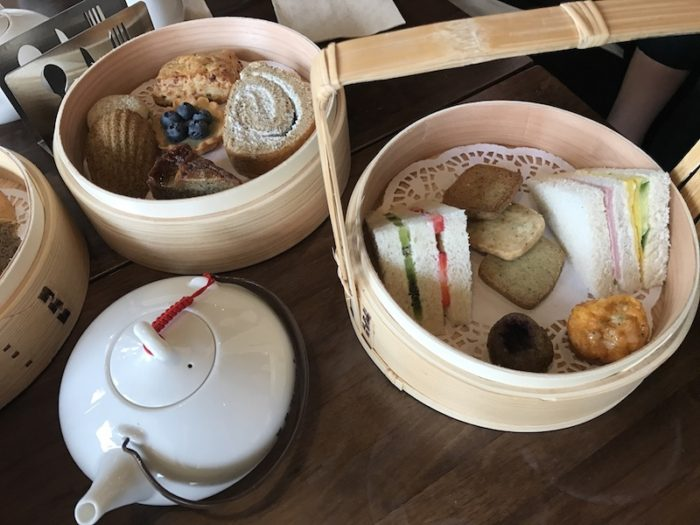 Afternoon tea set at Tea House Formosa