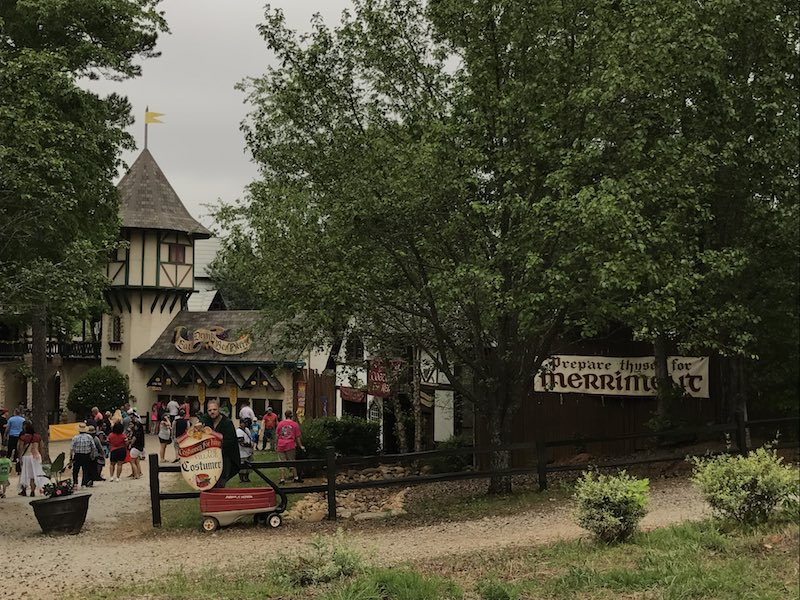 Entrance to Georgia Renaissance Festival