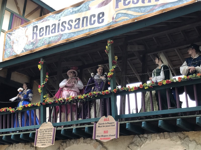 Queen of the Georgia Renaissance Festival