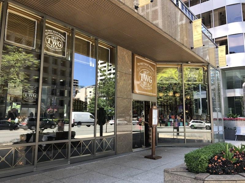 TWG Salon exterior