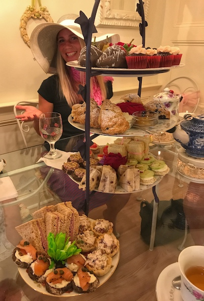Afternoon Tea curate at Calabash Garden Tea Room