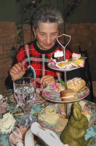 New Jersey Christmas high tea with Grandma