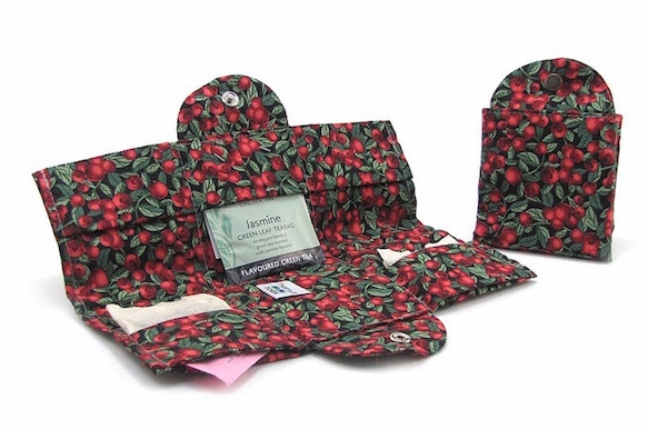 Tea Wallet from Thistledown Cozies