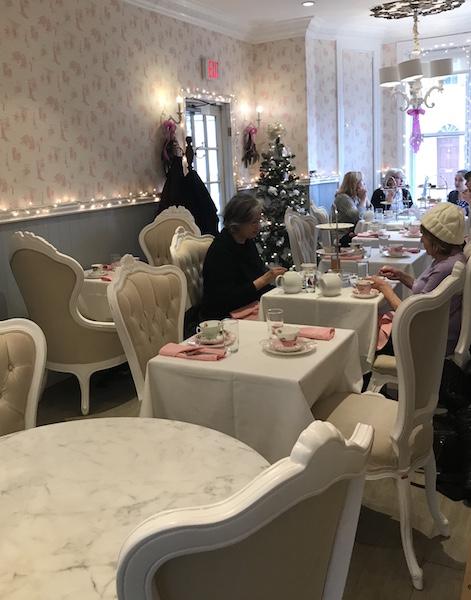 Lady Camellia interior in DC