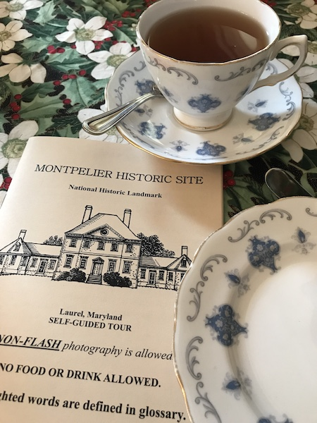 Tour pamphlet at Montpelier Mansion in Laurel, MD