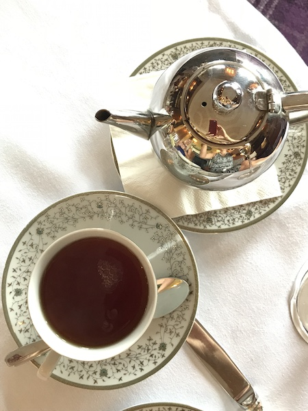Tea is served at Mount Juliet Estate