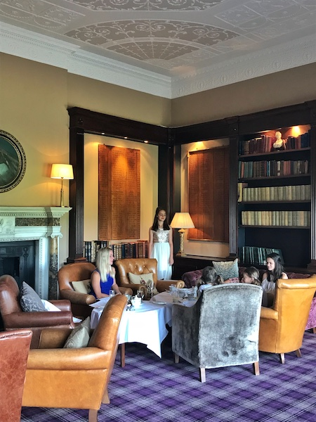 The library at Mount Juliet Estate