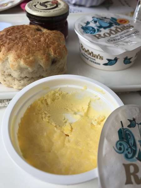 Clotted cream at Vintage Tea Tours
