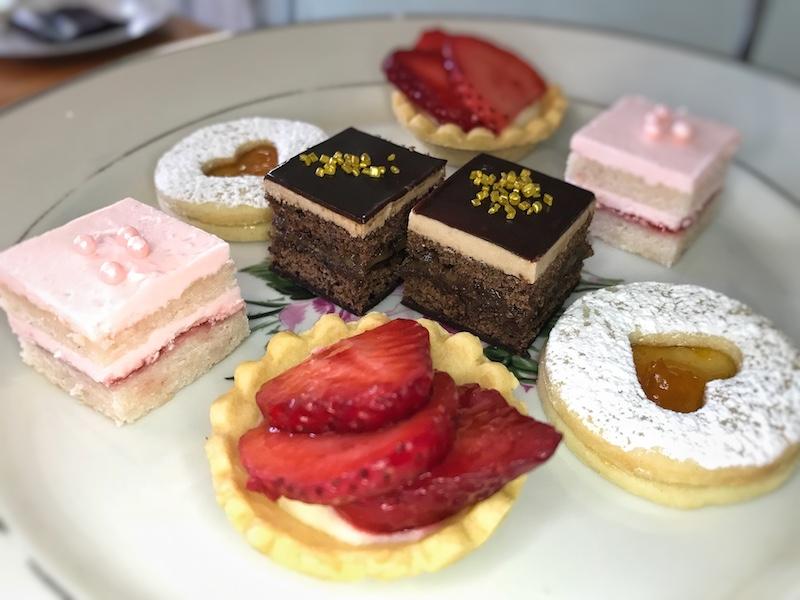 Desserts at Twenty Six Divine in Charleston, SC