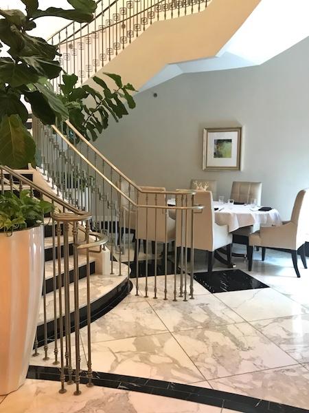Table at Cafe & Bar at Mandarin Oriental Atlanta