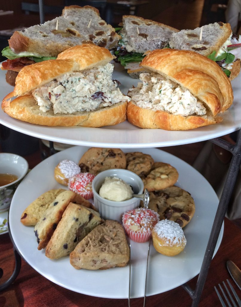 Each guest receives a half Classic Harvest sandwich -- a delicious turkey club served on walnut raisin bread -- as well as a standout chicken salad croissant.