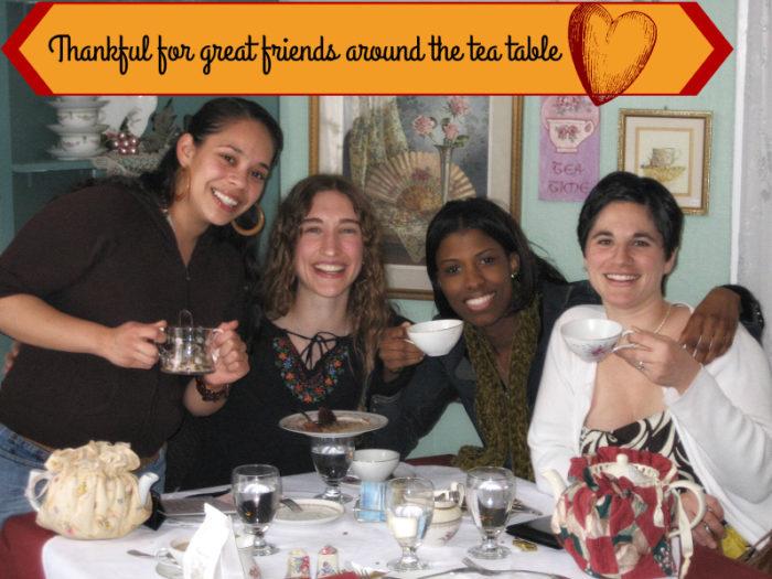 tea sisters at afternoon tea