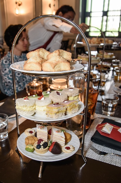 Afternoon tea curate at Four Seasons Atlanta