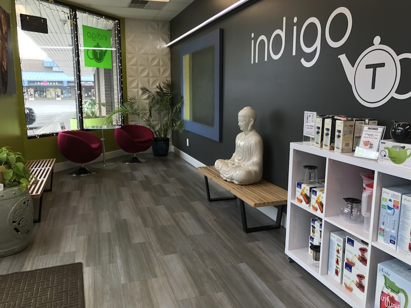 foyer Indigo Tea Lounge