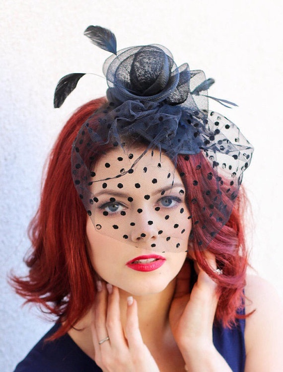 Tea Hats and Fascinators from Queen Sugar Bee on Etsy