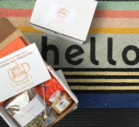 Just Add Honey tea and honey subscription box