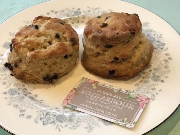 Rose Arbour Scones Shipped