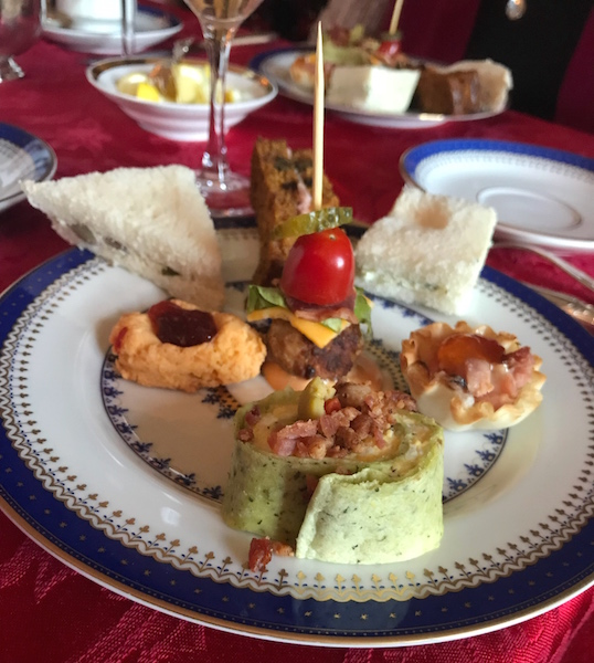 Savories at Bulloch Hall Christmas Tea