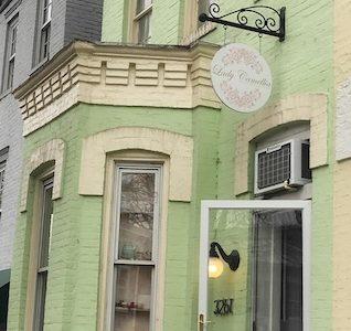Exterior Lady Camellia Tea Room in DC