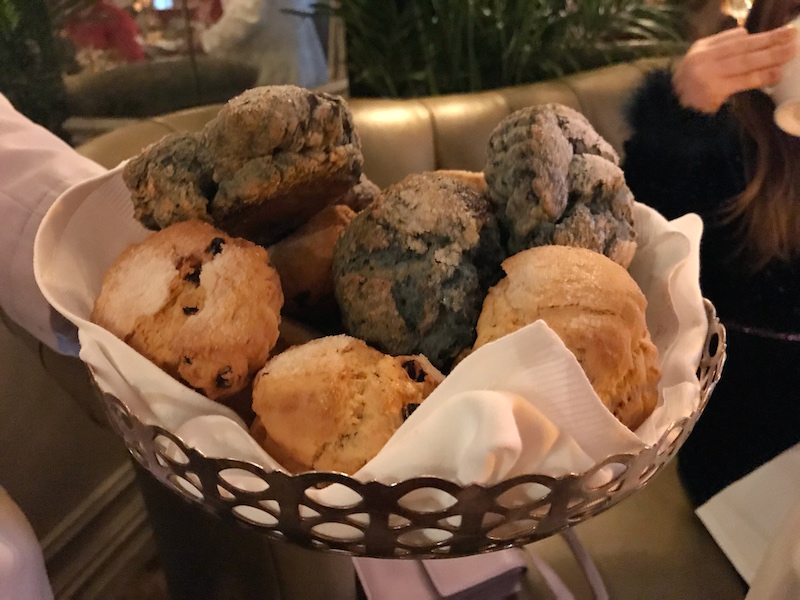 Scones at The Lowell in NYC