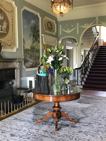 Foyer of the Manor House in Mount Juliet Estate