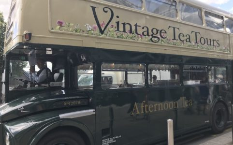 Vintage Tea Tours 1960s Double-Decker