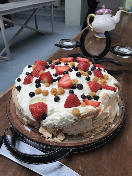 Pavlova at The Green Room at Springfield Castle