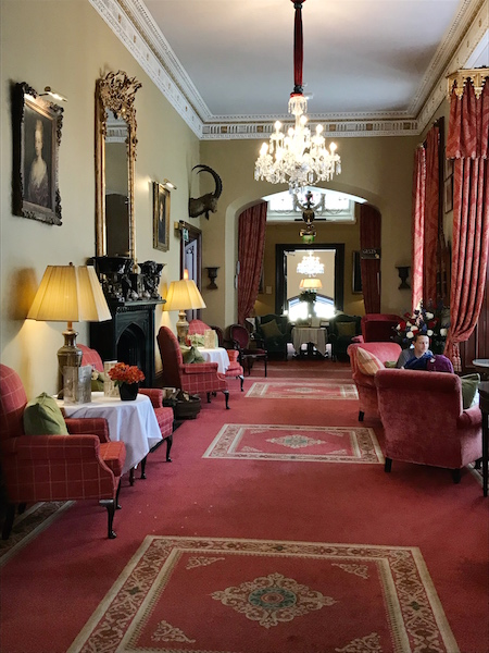 hallway at Dromoland Castle