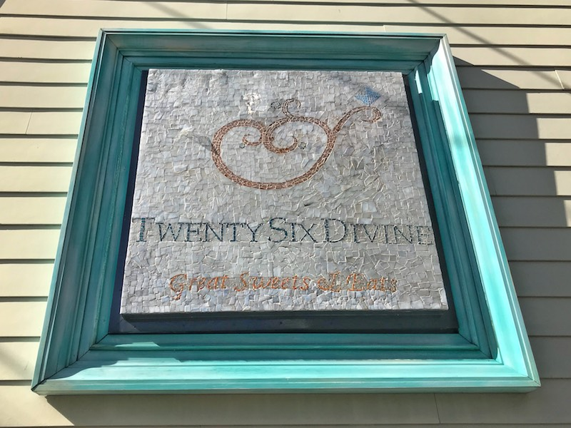 twenty six divine mosaic sign in Charleston, SC