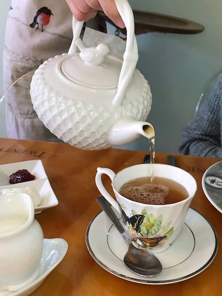 Teapot at twenty-six divine in Charleston, SC