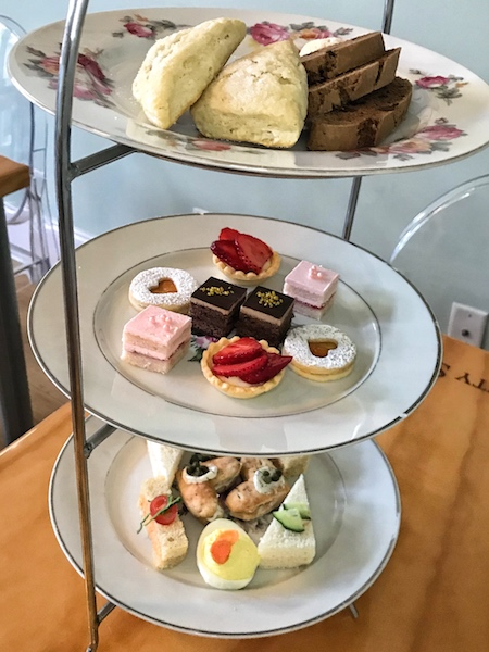 afternoon tea curate at Twenty Six Divine in Charleston, SC
