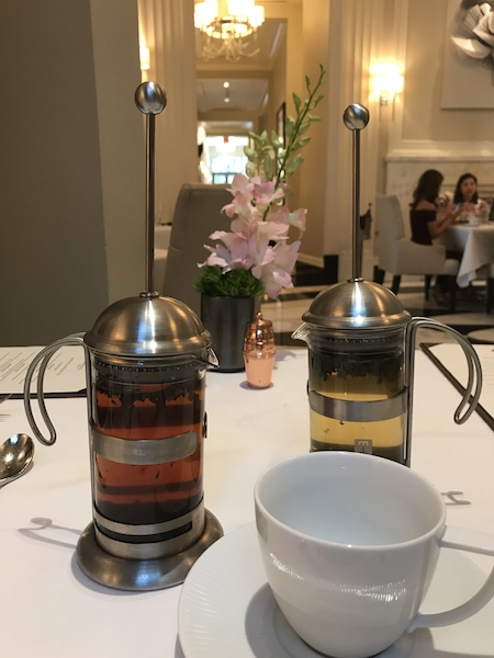 french presses at Mandarin Oriental Atlanta