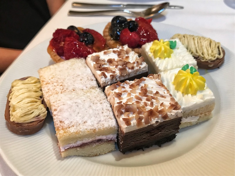 Desserts at Mandarin Oriental Atlanta